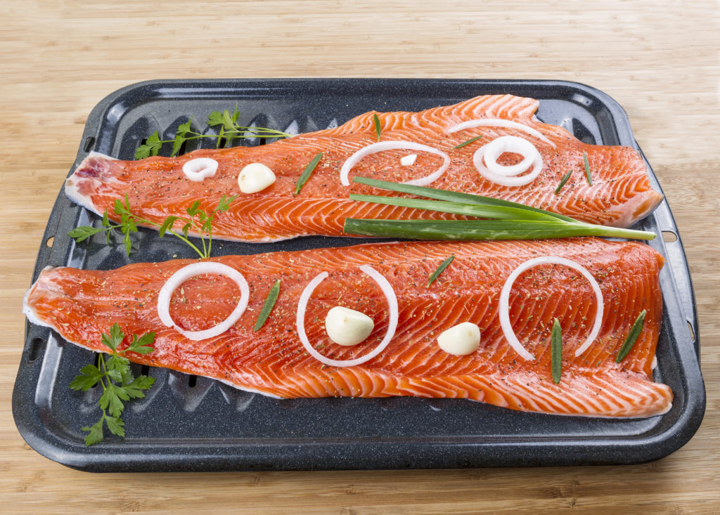 Wild Pacific Salmon is a Great Source of Lean Protein