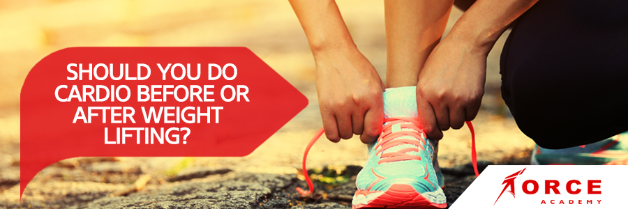 Cardio before or after weights; Cardio after or before weights